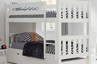 Jubilee surf white bunk with trundle