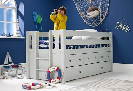 Jubilee captains bed grey