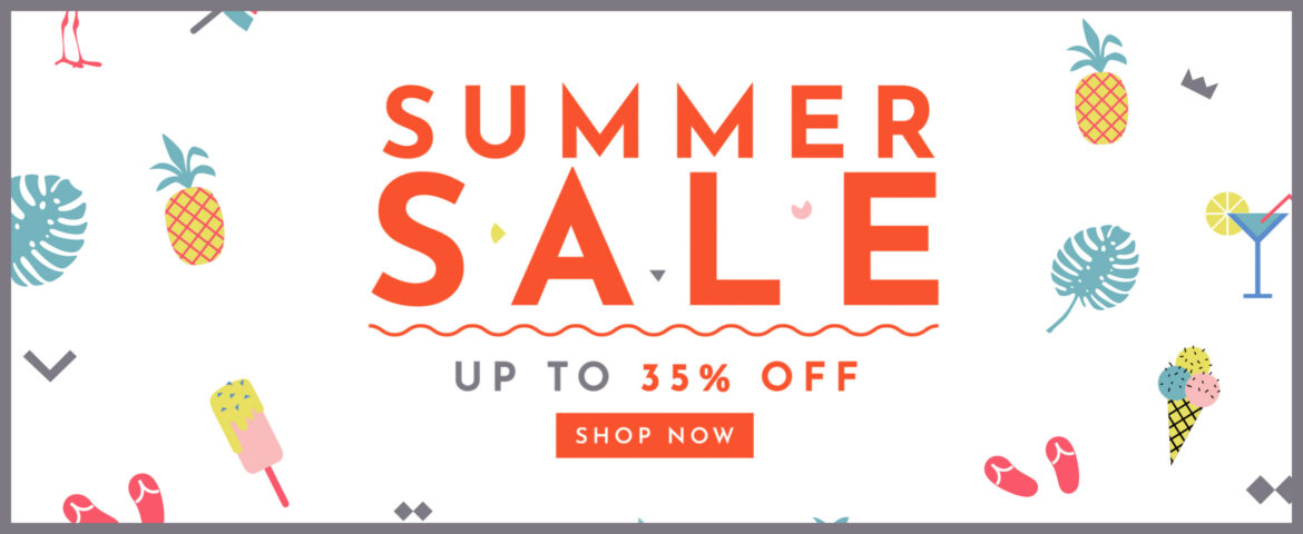 Summer Sale Up to 35% off!