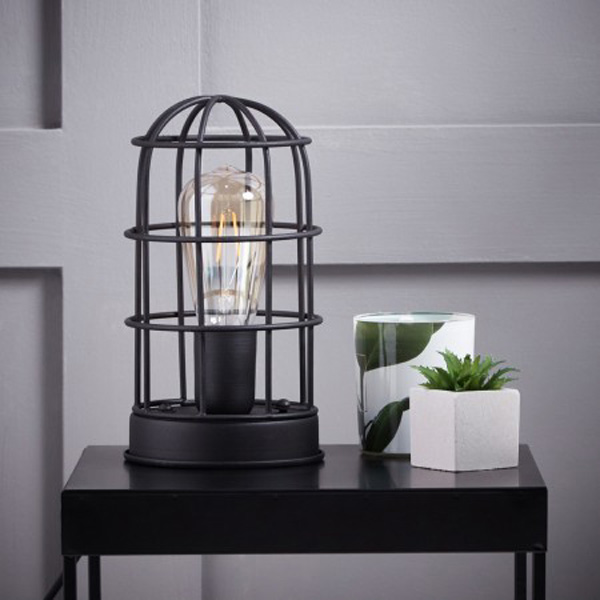 caged lamp