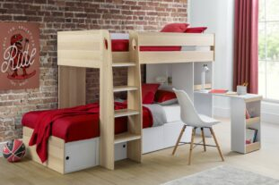 oak bunk bed