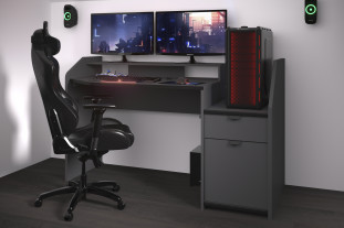 150cm gaming set up desk