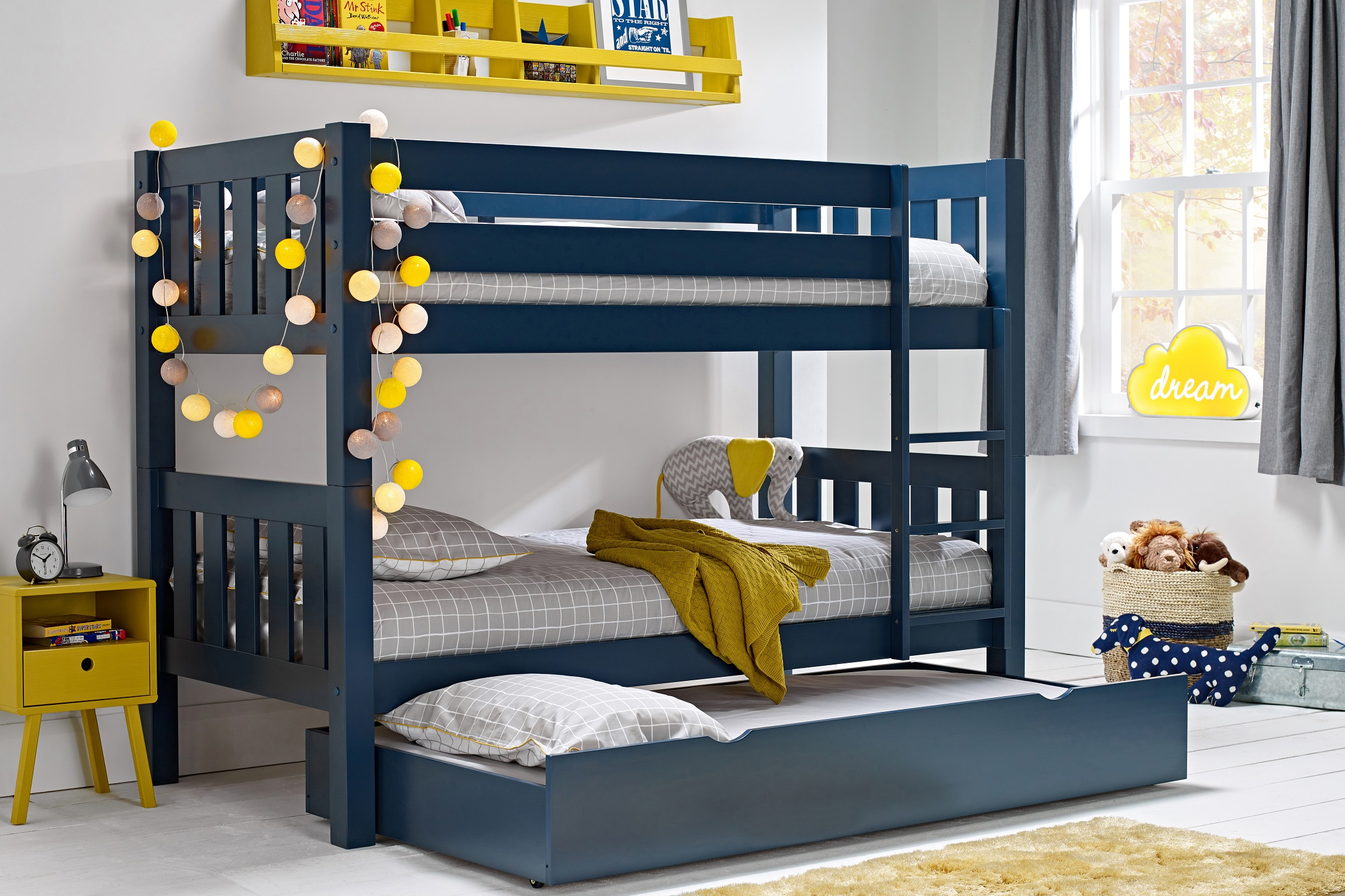 Jubilee Bunk midnight with trundle - resize web