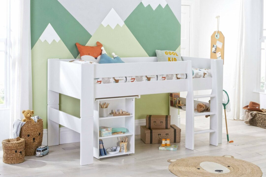 Bloc Midsleeper with pull out desk - angle