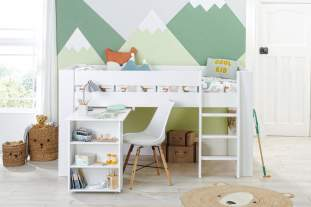 Bloc Midsleeper with pull out desk