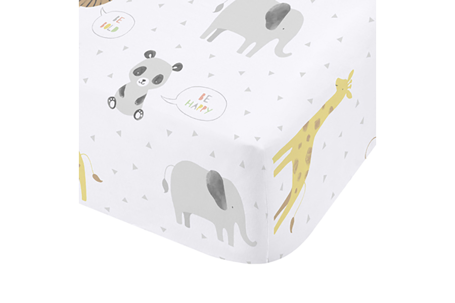 55087-ROARSOME-ANIMALS-FITTED-SHEET-002