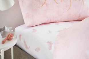 Angel Single Fitted Sheet