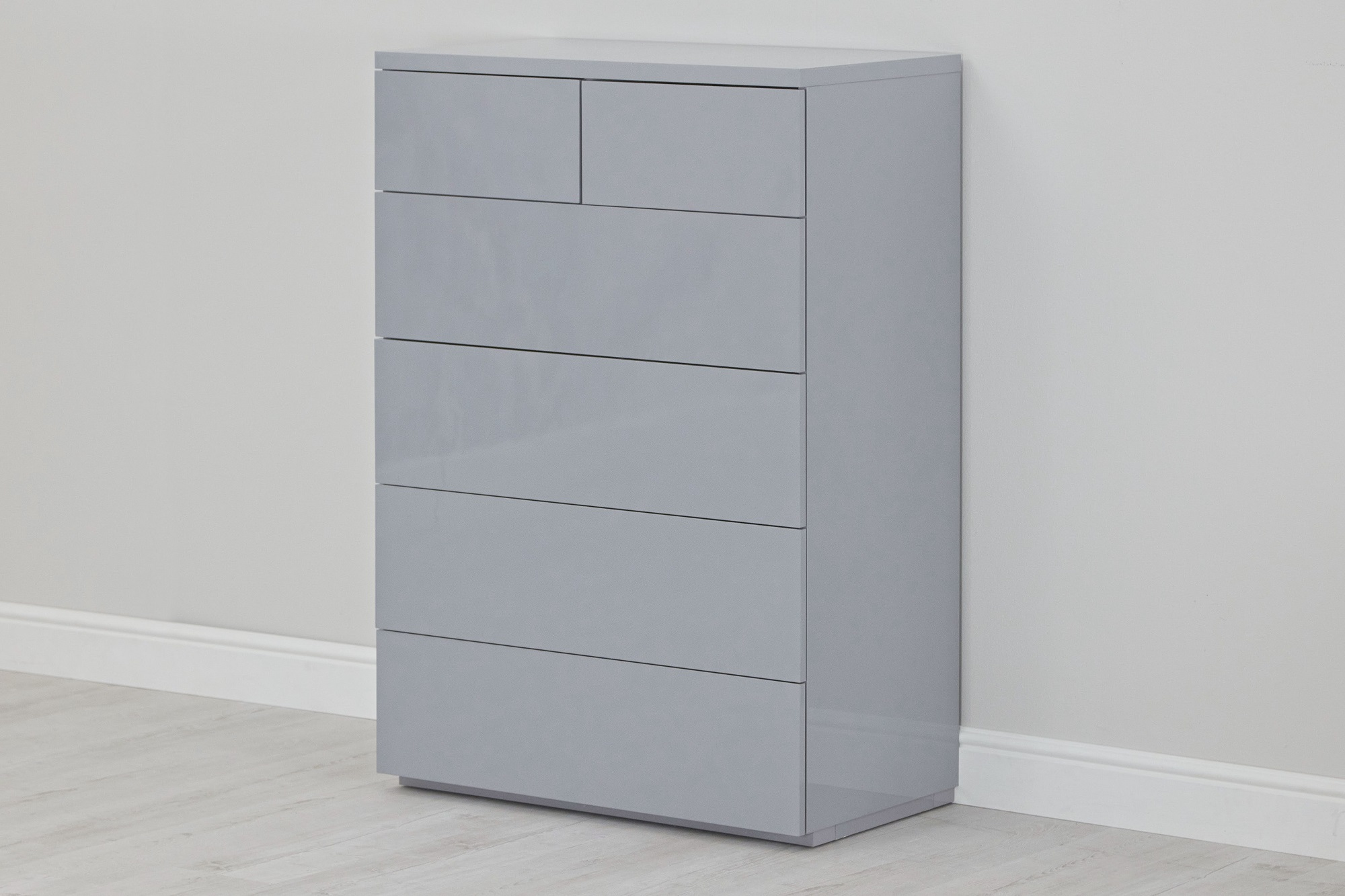 Grey gloss 4+2 chest - naked