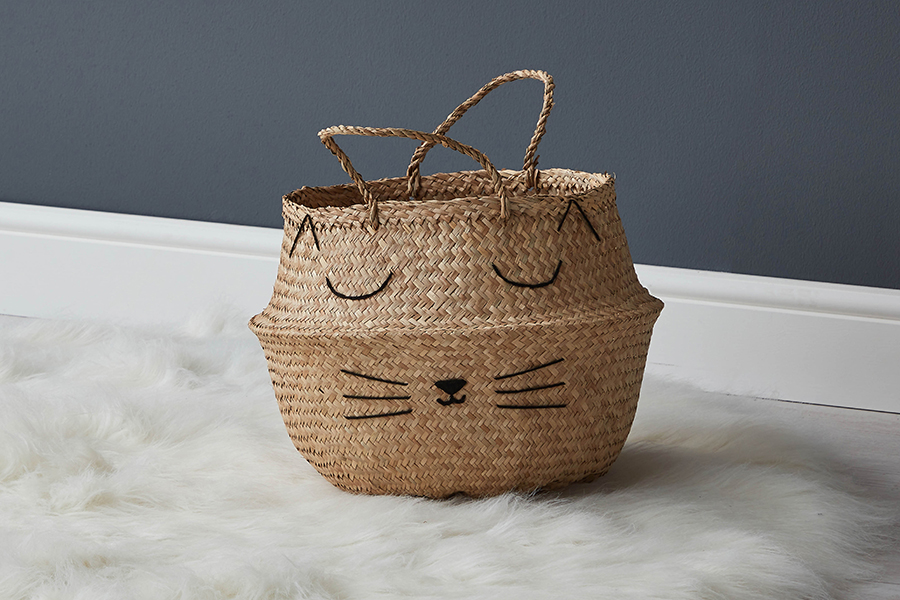Cats Whiskers Basket 001