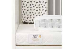 Mother & Baby White Gold Anti Allergy Cot Mattress 120x60 001
