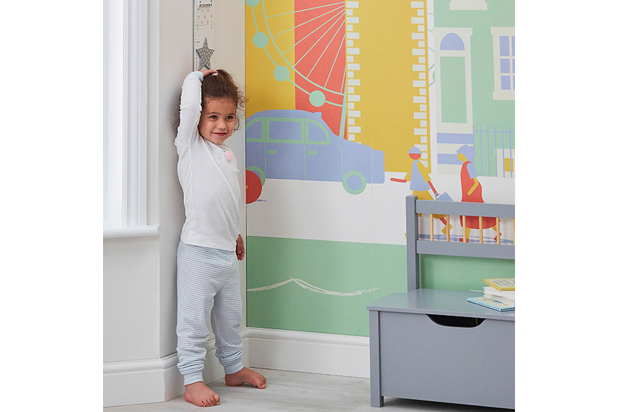 R16013 Wooden Growth Chart White 002